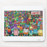 Toontown toons unite Disney Mouse Pad