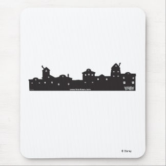 Toontown Toontown Skyline Disney Mouse Pad