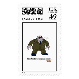 Toontown's Cog Grinning Disney Stamps