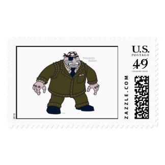 Toontown's Cogs Disney Postage Stamps