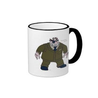 Toontown's Cogs Disney Ringer Coffee Mug