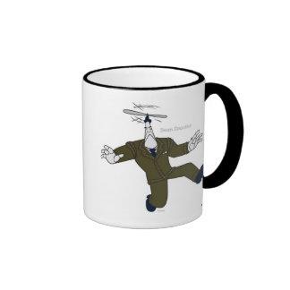 Toontown's Cogs Flying Disney Ringer Coffee Mug