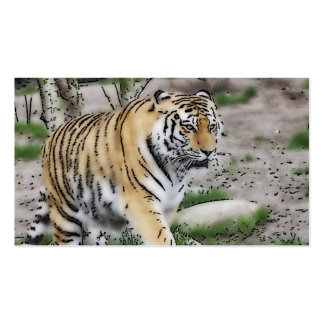 toony tiger Double-Sided standard business cards (Pack of 100)