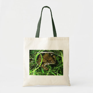 Toony Toad Tote Bags