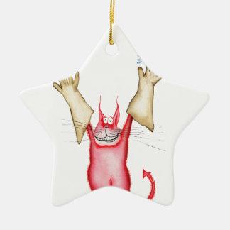 tooo caliente dirigir, fernandes tony adorno navideño de cerámica en forma de estrella