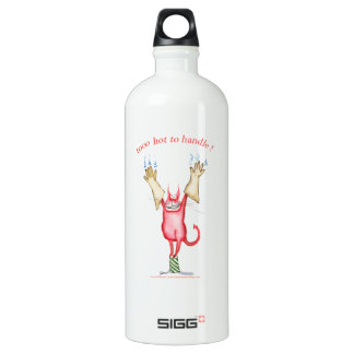 tooo hot to handle, tony fernandes water bottle
