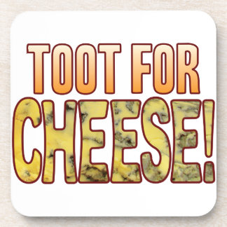 Toot For Blue Cheese Drink Coaster