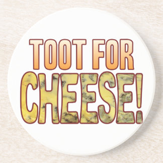 Toot For Blue Cheese Sandstone Coaster