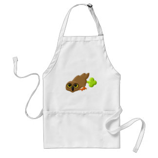 Toot Owl Adult Apron