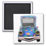 Toot! Toot! the Cute Little Cartoon Car Magnet