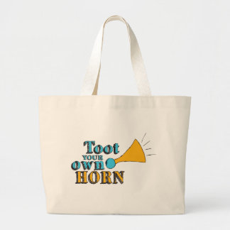 Toot your Own Horn Tote Bags