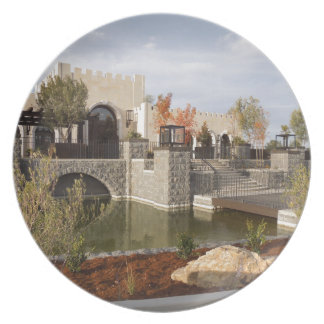Tooth and Nail Castle Winery in Paso Robles Dinner Plate