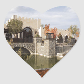 Tooth and Nail Castle Winery in Paso Robles Heart Sticker