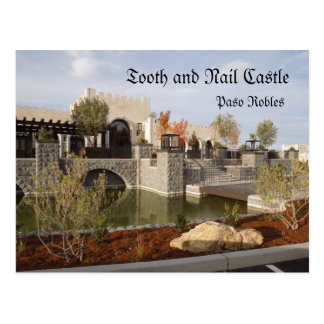 Tooth and Nail Castle Winery in Paso Robles Postcard