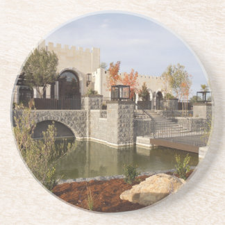 Tooth and Nail Castle Winery in Paso Robles Sandstone Coaster