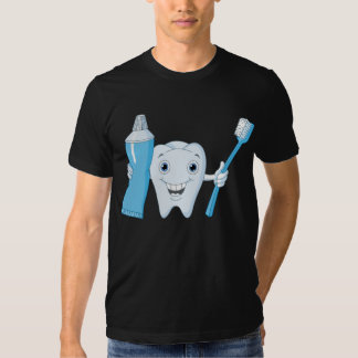 Tooth And Toothbrush Mens T-Shirt
