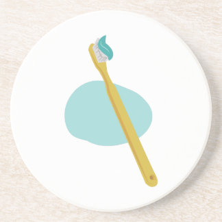 Tooth Brush Drink Coaster