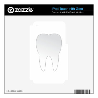 Tooth Decal For iPod Touch 4G