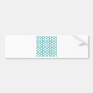 Tooth Fairy #1 - Blue Teeth Bumper Sticker