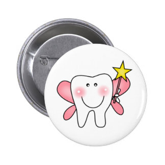 Tooth Fairy 2 Inch Round Button