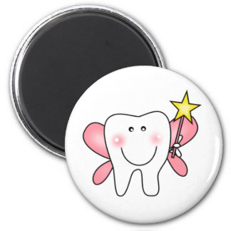 Tooth Fairy 2 Inch Round Magnet