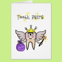 Tooth Fairy Announcement Card