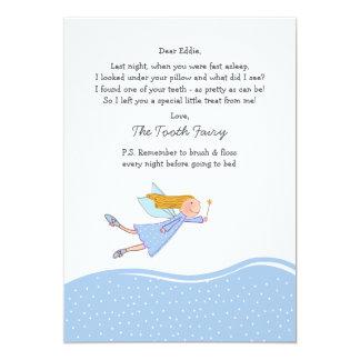Tooth Fairy (Blue) Card