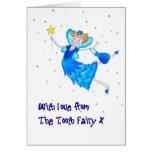 Tooth Fairy Congratulations Card
