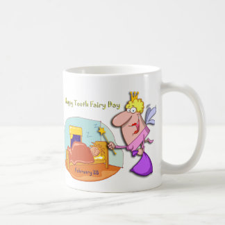 Tooth Fairy Day February 28 Coffee Mug