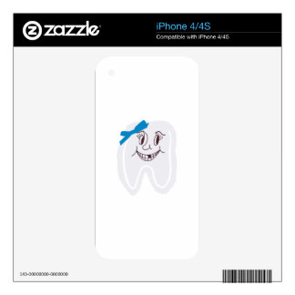 Tooth Fairy Decal For The iPhone 4