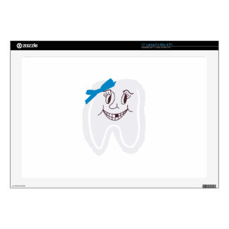 "Tooth Fairy Decals For 17"" Laptops"