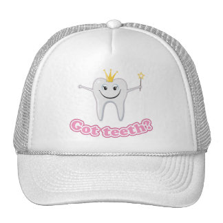 Tooth fairy got teeth trucker hat