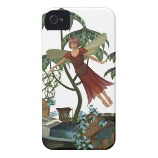 Tooth Fairy in Flight iPhone 4 Cases