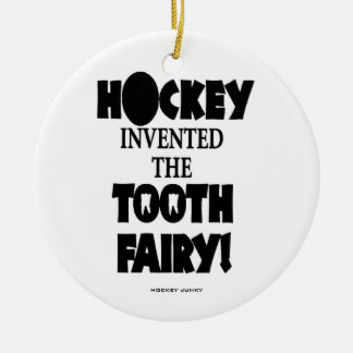 TOOTH FAIRY Double-Sided CERAMIC ROUND CHRISTMAS ORNAMENT