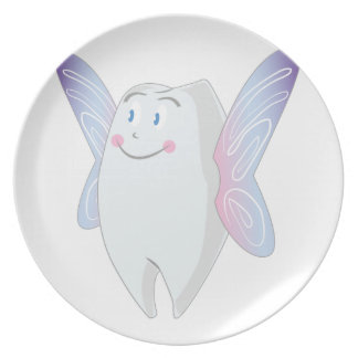 Tooth Fairy Party Plates