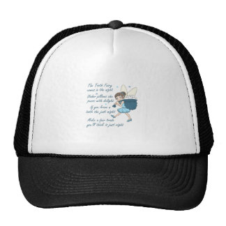 TOOTH FAIRY POEM TRUCKER HATS