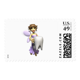 tooth fairy postage stamp