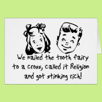 Tooth Fairy Religion Card