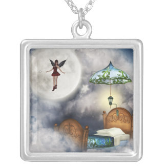 Tooth Fairy Silver Necklace