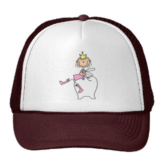Tooth Fairy Sits On A Tooth Hat