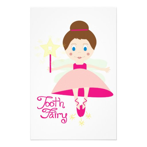 It is a photo of Influential Tooth Fairy Stationary