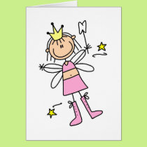 Tooth Fairy Stick Figure Card