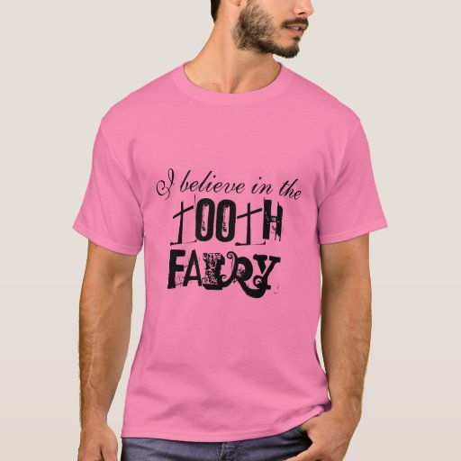 Tooth fairy t shirt zazzle for Tooth fairy t shirt