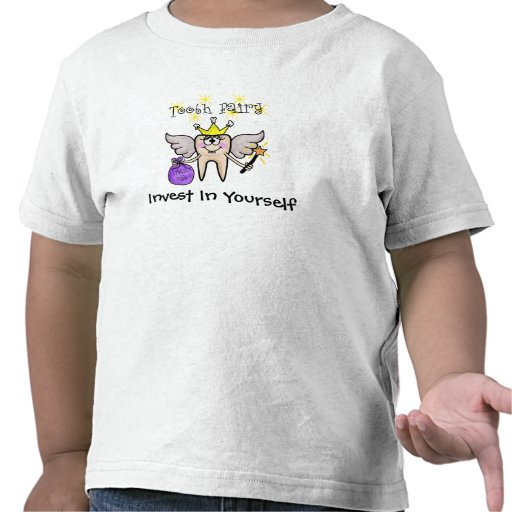 Tooth fairy t shirt for kids customize it zazzle for Tooth fairy t shirt