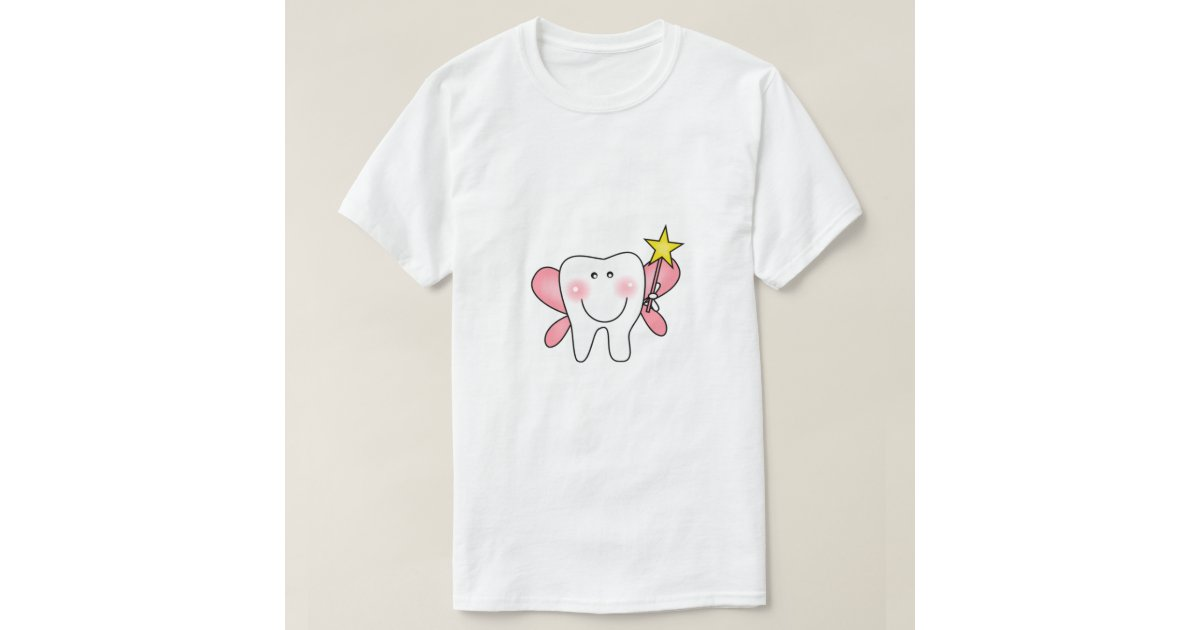 Tooth fairy tshirts and gifts zazzle for Tooth fairy t shirt
