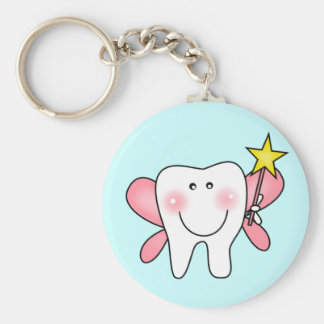 Tooth Fairy Tshirts and Gifts Basic Round Button Keychain