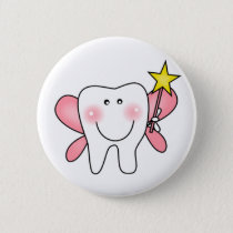 Tooth Fairy Tshirts and Gifts Button