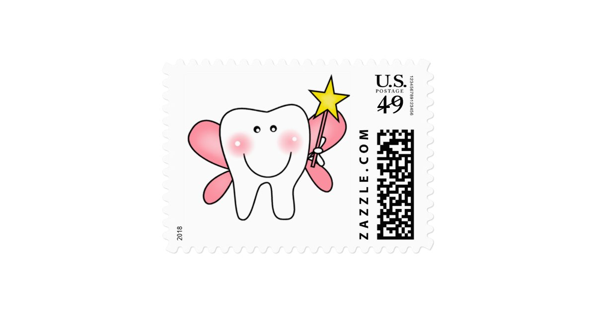 Tooth fairy tshirts and gifts postage zazzle for Tooth fairy t shirt