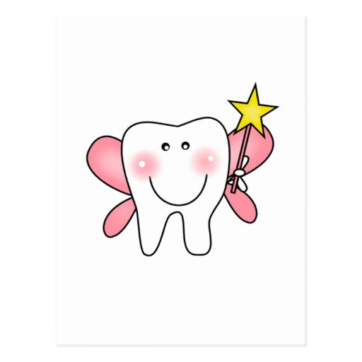 Tooth Fairy Tshirts and Gifts Post Card