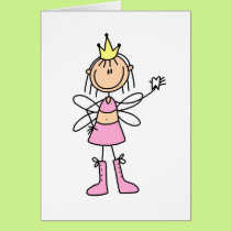 Tooth Fairy With A Lost Tooth Card